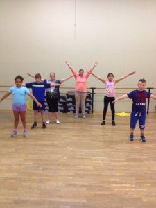 Swngkids 2 be Fit @t Noes Fiolet Studio´s